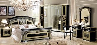 Versace inspired italian bedroom furniture