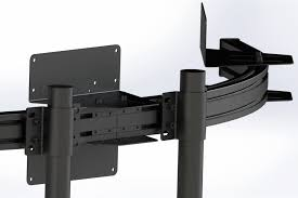 Triple Display Monitor Stand RennSport Cockpit Triple Monitor Stand V100 RennSport 14