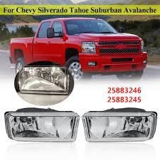 2011 Suburban Daytime Running Light Bulb Us 20 61 22 Off Pair 12v Clear Front Fog Lights For Chevy For Silverado For Tahoe For Suburban 2007 2008 2009 2010 2011 2012 2013 2014 In Car Light