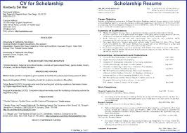 Scholarship Resume Template Fascinating Scholarship Resume Template Google Docs Buildingcontractorco