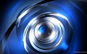 Moving blue 3d abstract wallpaper ...
