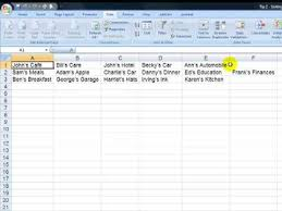 how to import a text file into excel and change rows to columns