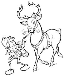 Small Picture Coloring Pages Elf Template Christmas Ornaments All Things