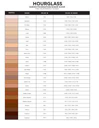 hourgl vanish foundation shade match guide know your sephora color iq number and get the perfect color match for this foundation