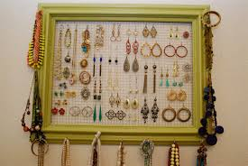 Jewelry Organizer Diy Closets Storages Entrancing Pictures Of Diy Jewelry Organizer