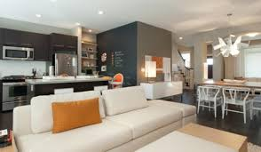 Open Living Room And Kitchen Designs Open Concept Kitchen Family Room Design Ideas Cheap Kitchen And