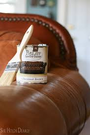 image of how to paint leather furniture vinyl reluv leather paint magic brush portalstrzelecki leather
