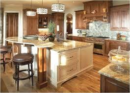 2 tier kitchen island designs