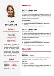 Fancy Resume Templates Inspiration Fancy Resume Template For Free Resumes Pinterest Template