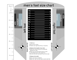 Paul Fredrick Size Chart Mens Shoe Size Chart For Your Reference Kiddo Shelter In
