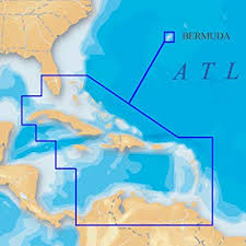 Navionics Platinum Sd 908 Caribbean Bermuda Nautical Chart