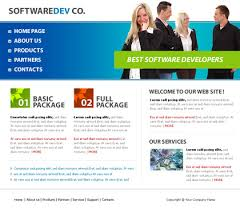 Free Bookstore Website Template Free Software House Website Templates Free Website Templates With