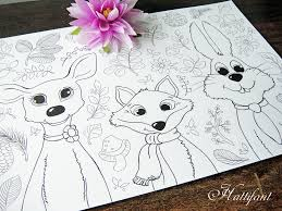 Small Picture Animal Coloring Pages Deer Printable animal coloring pages me