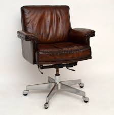 office chair vintage. marvelous vintage leather office chair d33 on amazing interior home inspiration with e