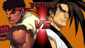 ryu street fighter vs haohmaru death battle fanon wiki