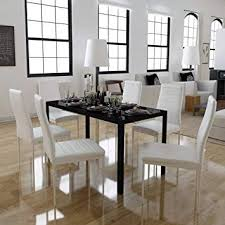 image unavailable image not available for color festnight 7 piece dining set