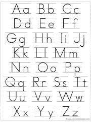 free printable alphabet. Modren Printable Alphabet Chart Printable  For Free A