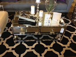 elegant gold mirrored coffee table of full siz 67943 forazhouse