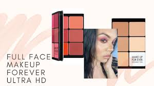 makeup forever ultra hd palette