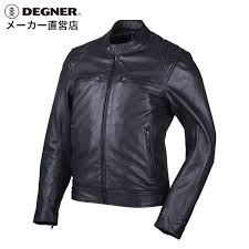 leatherette jacket leather jacket motorcycle summer spring storm men goat riders jacket goat leather goat leather jacket black black degner デグナー 18sj 6