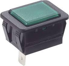 Arcolectric Indicator Lights Arcolectric C0480abnac Indicator Light Green Black 1 Pc S