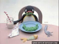animated moving penguins. Delighful Penguins Pingu Eating Stop Frame Animation Bing VideoStop MotionPenguins To Animated Moving Penguins