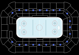 Dow Event Center Seating Chart Saginaw Spirit Vs Guelph Storm Tickets At Dow Arena At Dow