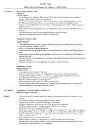 Seafood Clerk Sample Resume Seafood Clerk Resume Samples Velvet Jobs 2