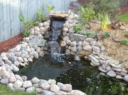 backyard pond ideas small garden