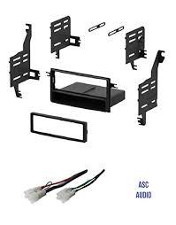 amazon com asc single din car stereo install dash kit and wire  asc single din car stereo install dash kit and wire harness for 2005 2010 scion