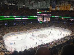 Td Garden Section Bal 304 Home Of Boston Bruins Boston