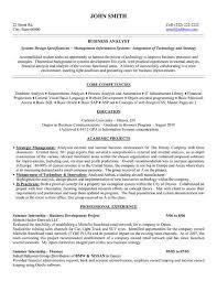 Ba Resume Samples Elegant Entry Level Resume Sample And Plete Guide