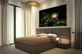 bedroom flower art