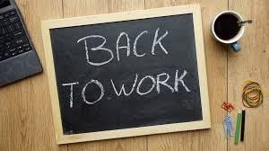 Urlaub Vorbei Zurück Ins Büro Karriereat