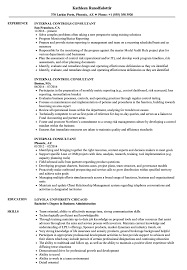 Internal Consultant Resume Samples Velvet Jobs