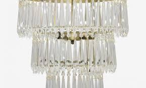 sheridan regency antique brass 40 tier u drop prism chandelier glass prism chandelier