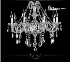 8 arms italian glass chandelier with k9 crystal and 3 year warranty 5 star supplier of