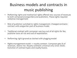 music management contract economics of music publishing the law and the market ppt video