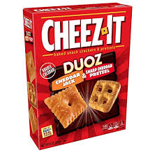 Pretzel Charts Cheez It Duoz Baked Snack Cheese Crackers And Pretzels