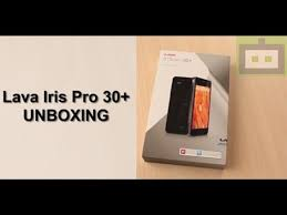 Lava Iris Pro 30+ UNBOXING - video ...