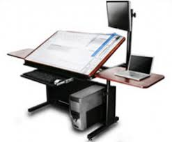 High Quality Drafting Table Computer Desk Combo   Google Search Drafting Desk, Drafting  Tools, Vintage Drafting