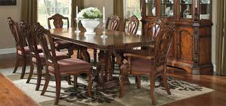 furniture dinner set at awesome ashley dining table room sets design ideas
