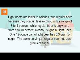 how much sugar is in a can of bud light