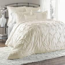ivory queen comforter set. Simple Queen Lush Decor Lex 6Piece Ivory Queen Comforter Set And I