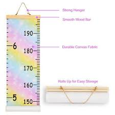 Kids Growth Chart Kids Growth Chart Wall Hanging Height Measure Ruler Child