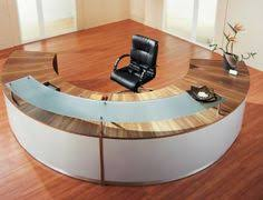 round office desk. Custom Contemporary Reception Stations Round Office Desk