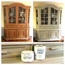 ideas china hutch decor pinterest: china cabinet chalk paint makeover bampa sondra lyn at home