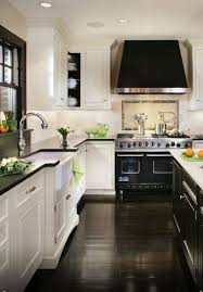 Interesting Dark Hardwood Floors Kitchen White Cabinets Eleven Inspiring Dream Kitchens The Weekly Round Up And Creativity Design