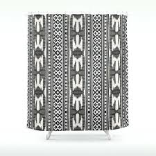 tribal print curtains shower curtain tribal print shower curtain pattern bohemian bath decor bathroom accessories gypsy
