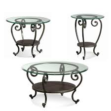 engaging wrought iron end tables 19 with glass tops side top round patio table console